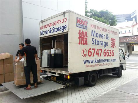 Knt Movers Singapore Office Mover House Moving Service In Singapore Mover