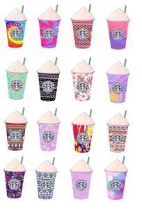 Starbucks Collage Tumbler Template by Starbucks Mix