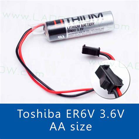 Er6v 3 6v toshiba er6v 3 6v lithium battery แบตเตอร ล เธ ยม พร อม