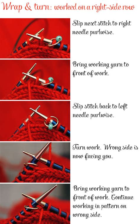 how to do wrap and turn in knitting how to knit seamless set in sleeves from the top by