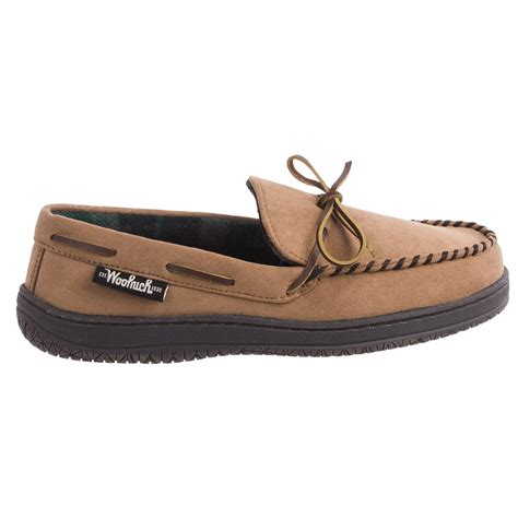 trapper slippers woolrich trapper moccasin slippers for