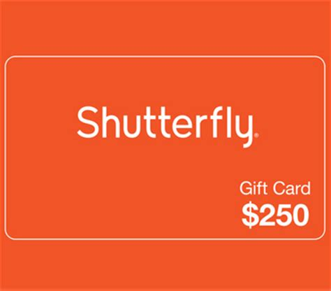 Shutterfly Gift Cards In Stores - win a 250 shutterfly gift card