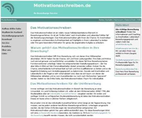 Motivationsschreiben Einer Bewerbung Motivationsschreiben Das Motivationsschreiben In Einer Bewerbung