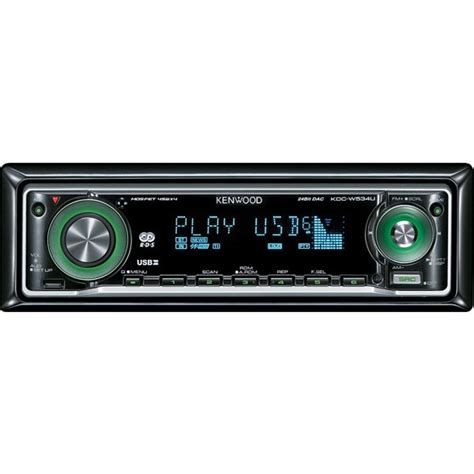 kenwood kdc w534ug cd mp3 wma car stereo usb 2 0
