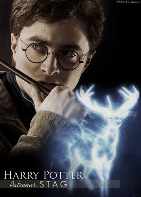 Deathly Hallows Stag harry potter patronus stag harry potter always