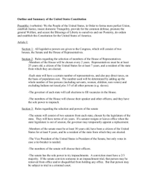 Outlining The Constitution Worksheet Answers by The Articles Of The Constitution Worksheets Answer Key