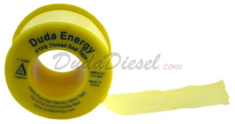 Bio Energy Yellow Micron yellow pipe thread sealant threadseal 1 2g 100x260 yellow