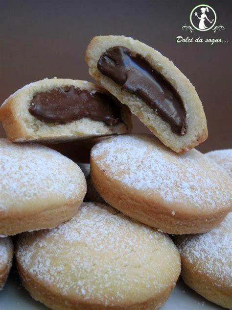 la cucina italiana ricette d oro biscotti con crema di nocciole cakes and