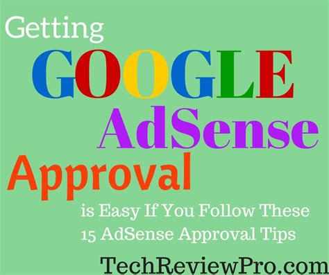 quick adsense approval tips   google adsense