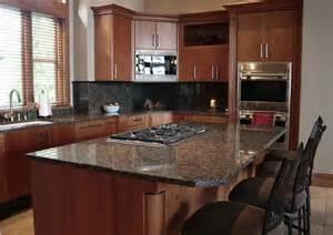 H Green Baltic Brown Granite Kitchen Countertop Granix Marble Granite Inc Baltic Brown Granite In Kitchen Photo