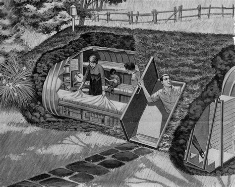 Backyard Underground Shelter What Became Of Backyard Fallout Shelters Atomic
