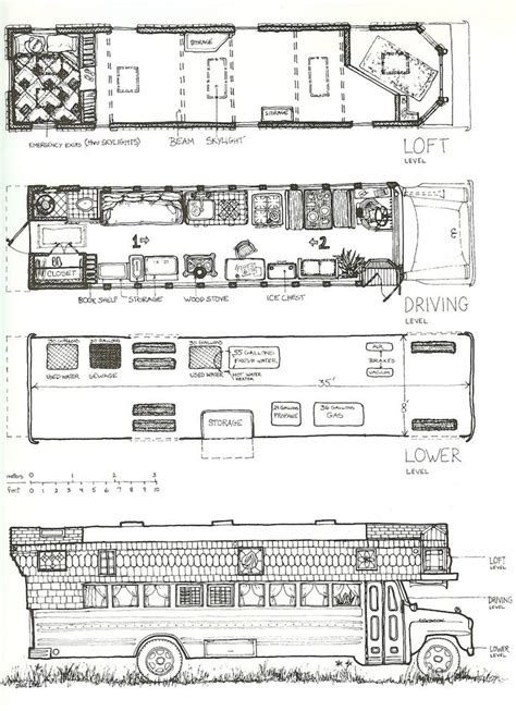 school bus floor plan 48 best skoolie floor plans images on pinterest school