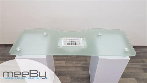 tavoli manicure tavolo manicure con piano in vetro temperato meeby
