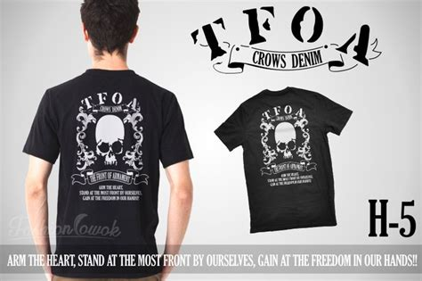 Crows Denim Tshirt Tfoa Xfd 10 best crows zero images on crows zero