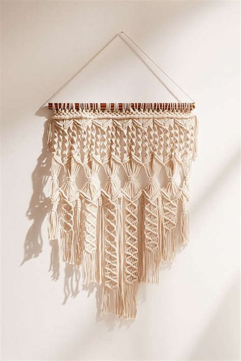 Macrame Weave - textured wall hangings are weaving their way into