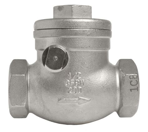 stainless swing check valve stainless steel 316 swing check valves