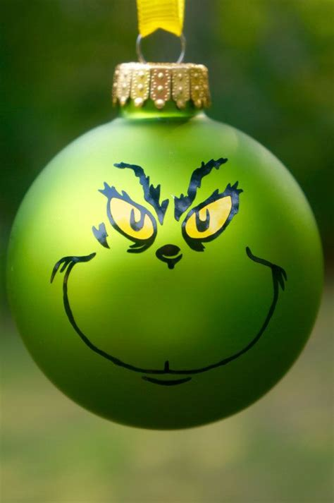 grinch ornament christmas how the grinch by