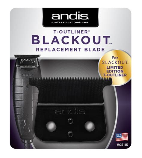Andis T Outliner Blade Uk by Andis Blackout T Outliner Blade Last Batch While Supplies Last Atlanta Barber And