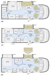 Motorhome Plans by Itasca Motorhome Floor Plans