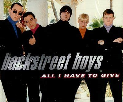all i have to give all i have to give by backstreet boys free piano sheet music