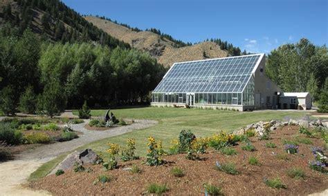 Sawtooth Botanical Gardens Ketchum Idaho Sawtooth Botanical Garden Alltrips