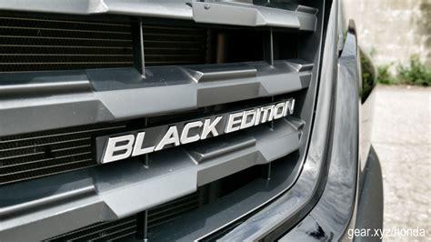 2017 honda ridgeline black edition 2017 honda ridgeline black edition gallery slashgear