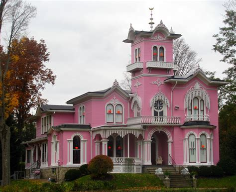 Pink House by The Pink House In Wellsville Ny Edwin Bradford A