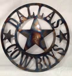 Dallas Cowboys Wall Decor by Dallas Cowboys Wall Torched Metal Wall By