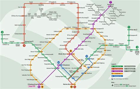 singapore mrt map singapore mrt usage 6 things you should always