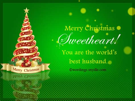 christmas messages  husband wordings  messages