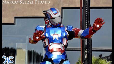 iron patriot iron man cosplay wip youtube