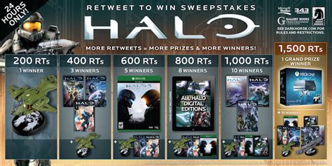 Halo Sweepstakes - halo 5 rt sweepstakes blog dark horse comics