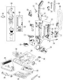 hoover uh70100 windtunnel pet vacuum repair parts