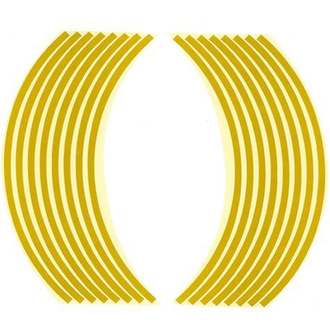 Felgenaufkleber Gelb by Optimum Selection Felgenaufkleber F 252 R 12 Zoll Gelb Op11012