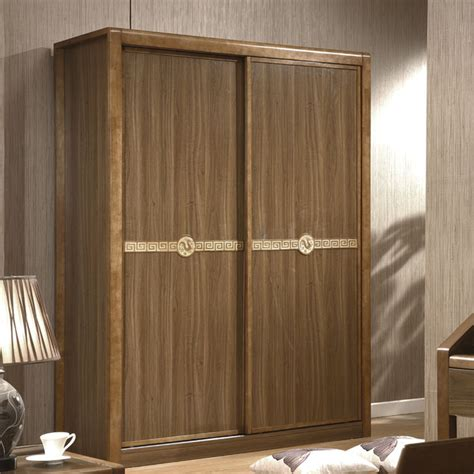 Wardrobe Closet Sliding Door Residential Furniture Minimalist Wood Sliding Door Wardrobe Sliding Door Wardrobe