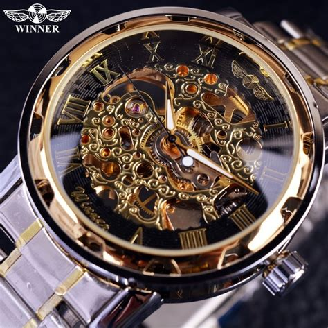 Aliexpress.com : Buy Transparent Gold Watch Men Watches Top Brand Luxury Relogio Male Clock Men