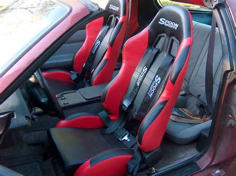 Racing Seat Upholstery Just Finished Putting In Racing Seats Third Generation