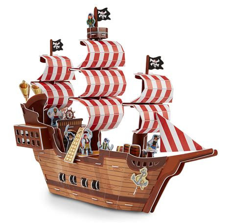 ship jigsaw puzzles pirate ship 3d puzzle puzzlewarehouse