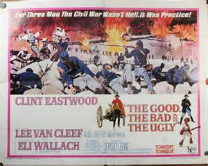 The good the bad and the ugly original sergio leone poster