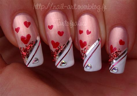 valentine s day nail art 5 by tartofraises on deviantart