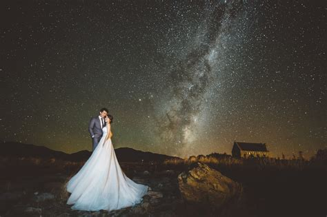 New Wedding Photography by New Zealand Queenstown Lake Tekapo Pre Wedding