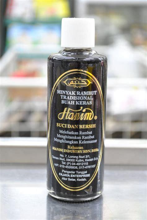 kosmetik hanim minyak rambut buah keras