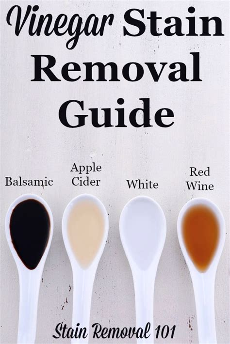 Remove Wine Stain From Upholstery by Vinegar Stain Removal Guide For Apple Cider Balsamic
