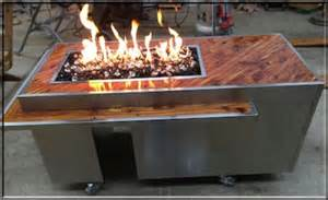 how to build a propane fire pit table custom tables and projects fire pits and fireplaces