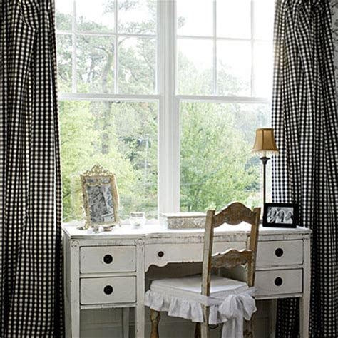 Black And White Gingham Curtains Black And White Gingham Curtains