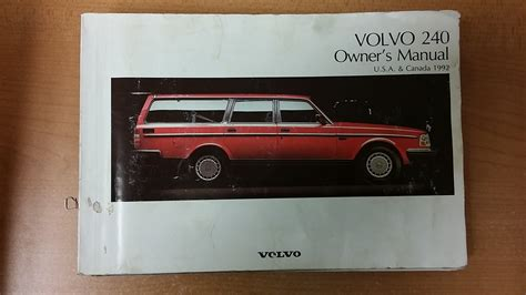 Volvo Manual by 1990 Volvo 240 Dl Owners Manual Manual Guide Exle 2018