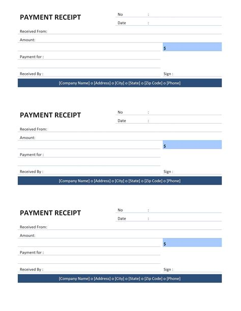receipt template usa blue rent receipts template portablegasgrillweber