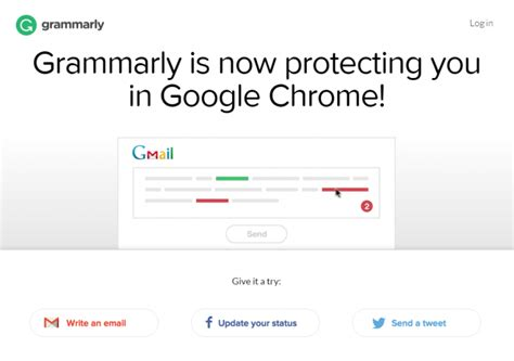 chrome grammarly galeria zdjęć zrzuty ekranu screenshoty grammarly