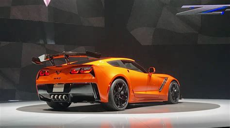 2019 Chevrolet Corvette Zr1 Is Gms Most Powerful Car by 2019 Zr1 With Sebring Orange Design Package Is Available