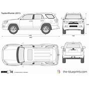 The Blueprintscom  Vector Drawing Toyota 4Runner